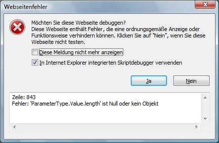 Visual Studio 2008 bug after installing IE8